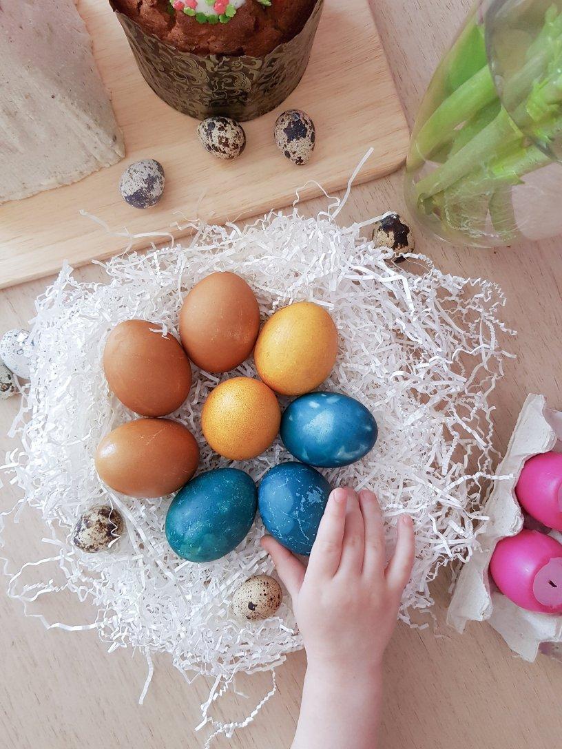 Как красиво окрасить яйца на Пасху — Mrs. Project